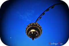 (Rodrigo_paz1984) Tags: africa city longexposure blue light sky cloud moon color luz azul night clouds dark lights noche nikon exposure ciudad luna morocco cielo nubes arabe marocco marrakech medina lampara marruecos nube oscuridad photographyrocks d3000 nikond3000