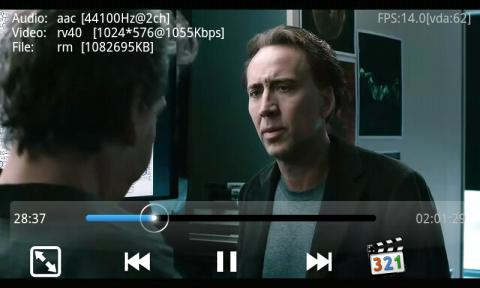 reproductor video android mp4 divx mkv