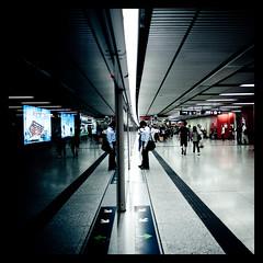 Split (terencehonin) Tags: street hk subway hongkong candid platform cinematic mtr d700 afsnikkor24mmf14ged
