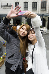 AFS-100264 (Alex Segre) Tags: china street city people urban vertical modern asian fun women asia shanghai rich chinese young scene trendy leisure females wealthy having adults fashionable alexsegre
