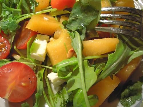 insalata con feta e melone
