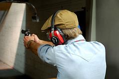 revolver (AndressYourselfDotCom) Tags: party digital losangeles nikon gun bachelor pistol shooting handgun range 9mm gunclub d40