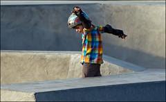 Be a Pro (jakubgloser) Tags: sport train fun kid nikon edinburgh board helmet young skatepark skate skateboard skater learn vr d90 nikor 70300vr 4tografie