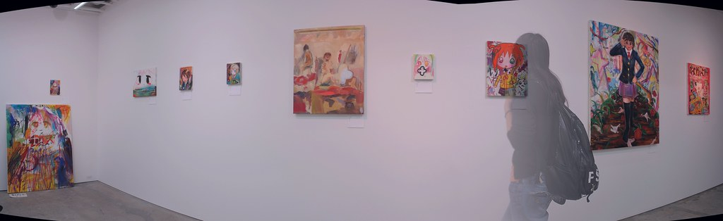 Fujishiro Uso (@lie_) paintings panorama