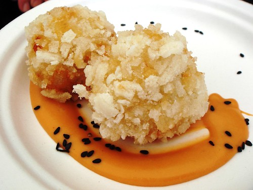 Blue Swimmer Crab and Rice Cracker Croquette