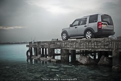 (Talal Al-Mtn) Tags: red car canon automobile shot automotive rover kuwait v8 v6 q8 lr3 kwt landroverlr3 450d canon450d lm10 inkuwait almtn talalalmtn  landroverinkuwait talalalmtnphotography