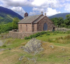 St Jame's Church Buttermere Lake District Cumbria (woodytyke) Tags: st james church buttermere lake district alfred wainwright window stone shepherds henry holiday stained glass gate william wordsworth fells cumbria england british britain english woodytyke lakes lakeland visitor tourism north west touring great united kingdom westmorland cumberland county stephen woodcock photo flickr photographer photograph picture image digital camera phone colour color country national foto best 1 2 3 4 5 6 7 8 9 10 composition light