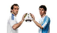 Greece VS Argentina (adifansnet) Tags: france digital mexico country product publicrelations handtohand omb jabulani shotlist officialmatchball