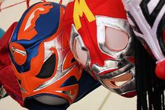 Who hasn't got his mexican wrestler mask?