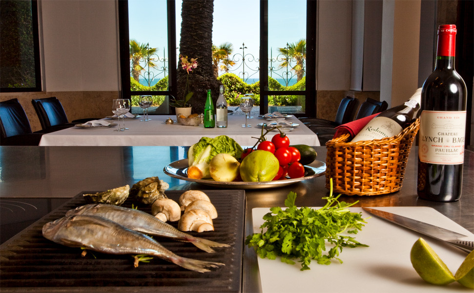Show Cooking at The Albatroz Seafront Hotel