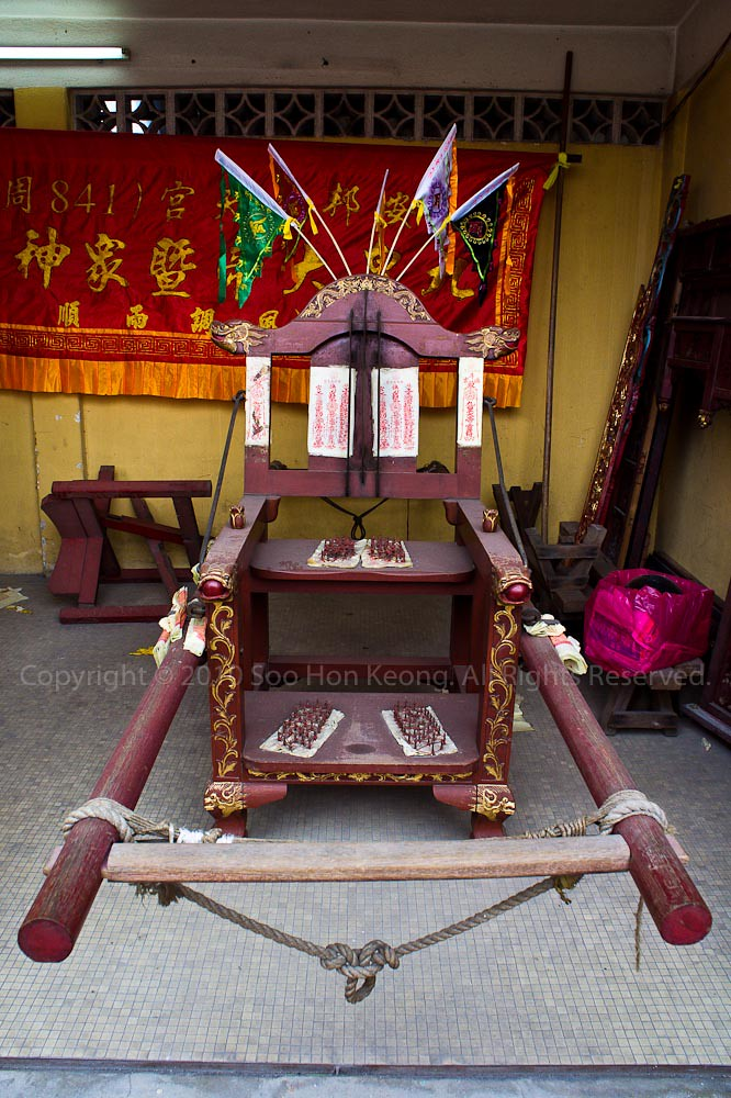 The Chair @ Nine Emperor Gods Festival, Ampang, Malaysia
