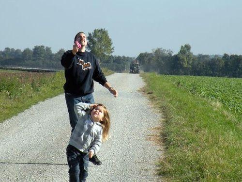 bei Papa fliegt er ganz hoch