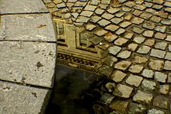 Charcos (*****María*****) Tags: water pool rain lluvia belgium belgique bruselas bélgica charco charcos