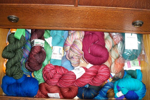 Sock Yarns - Drawer Two