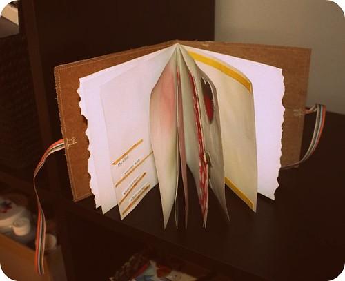 lacylike hand made journal