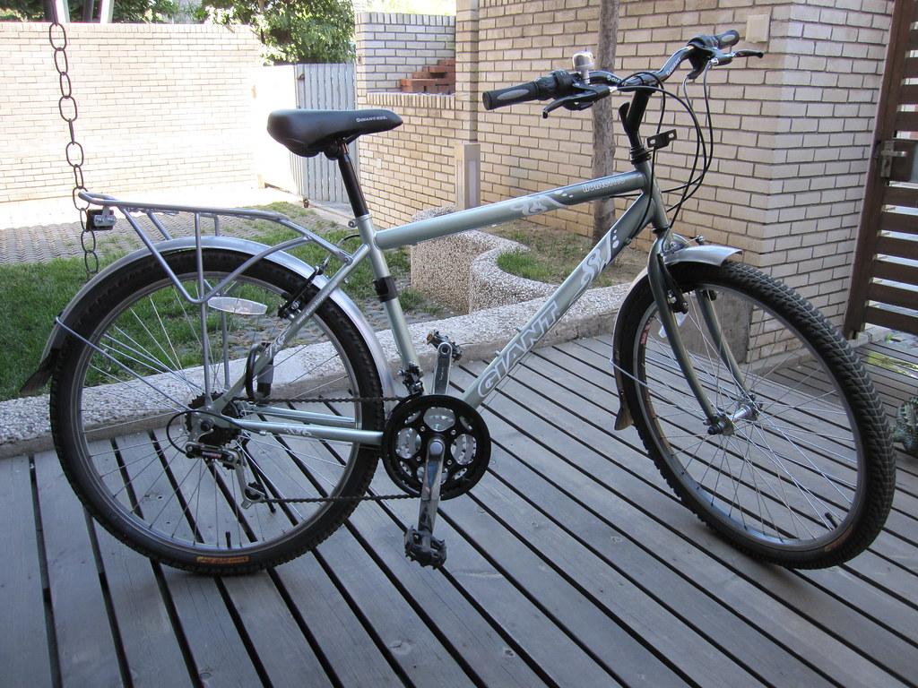 K's bike - the 'Hunter 1.0'