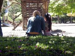 Amar ... (***Carmem***) Tags: parque flores brasil amor portoalegre praa filha rs me parco companheirismo brinquedod