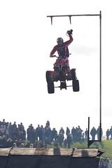 Jason Smythe Quad Bike Stunts (jamesdonkin) Tags: public jumping action racing stunt quadbike santapod