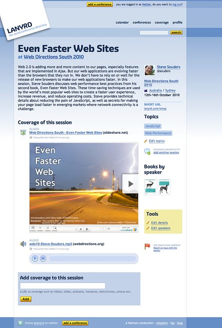 Even Faster Web Sites, by Steve Souders