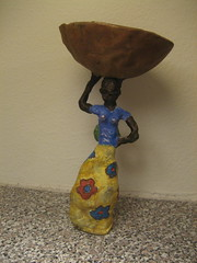 finished; african woman