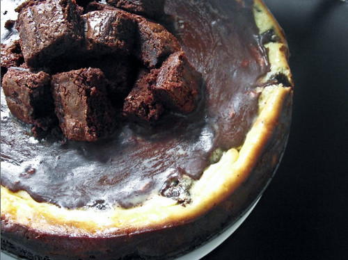 Dunk Twice: Brownie Mosaic Cheesecake