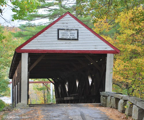 The Lovejoy Covered Bridge
