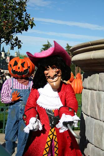 Pumpkin Man and Captain Hook