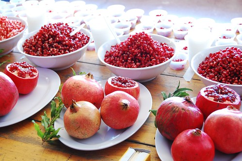 Pomegranates on Display
