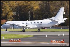 KBFI Untitled (U.S. Department Of Justice) Saab 2000 N92225 (djlpbb40) Tags: club 2000 aircraft boeing saab untitled boeingfield the marshals bfi doj kbfi usdepartmentofjustice usmarshals kingcountyinternationalairport n92225