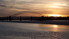 England - Cheshire - Widnes - Silver Jubilee Bridge - 28th October 2010 -17.jpg (Redstone Hill) Tags: england mersey widnes halton rivermersey silverjubileebridge runcornwidnesbridge