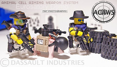 ACAWS pig Eurosatory dmo setup (Shobrick) Tags: car modern scarf soldier pig amazing lego helmet rubber hazel tiny weapon ba tt machete shotgun custom armory grenade pneu holster industries launcher dassault tactical mp9 brickarms eurosatory shobrick