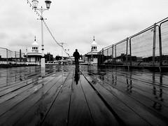 Glaw ar y pier / Rain on the pier (Rhisiart Hincks) Tags: duagwyn bw fencing argaeenn ffens isladak zuribeltz scáil faileasan reflections adsked adlewyrchiad floorboards plañchod estyll blackpool pier rain uisge báisteach lluvia pluie glav glaw gwennhadu dubhagusgeal dubhagusbán blackandwhite blancetnoir blackwhite monochrome unlliw blancoynegro zwartwit silwét silhouette ledskeud zilueta silueto silhueta siluetă sziluett cysgodlun fylde holidayresort sirgaerhirfryn fyldecoast lancashire lloegr powsows england sasana brosaoz ingalaterra angleterre inghilterra anglaterra 英国 angletèrra sasainn انجلتــرا anglie ngilandi ue eu ewrop europe eòrrpa europa euri pluvo eső regen дождь eòrpa