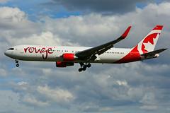 C-FIYE (Air Canada - rouge) (Steelhead 2010) Tags: rouge aircanada boeing b767300er b767 yyz creg cfiye