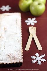 Crostata di mele e lime alla cannella