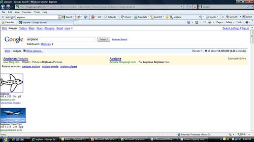 Google Image Page Bug