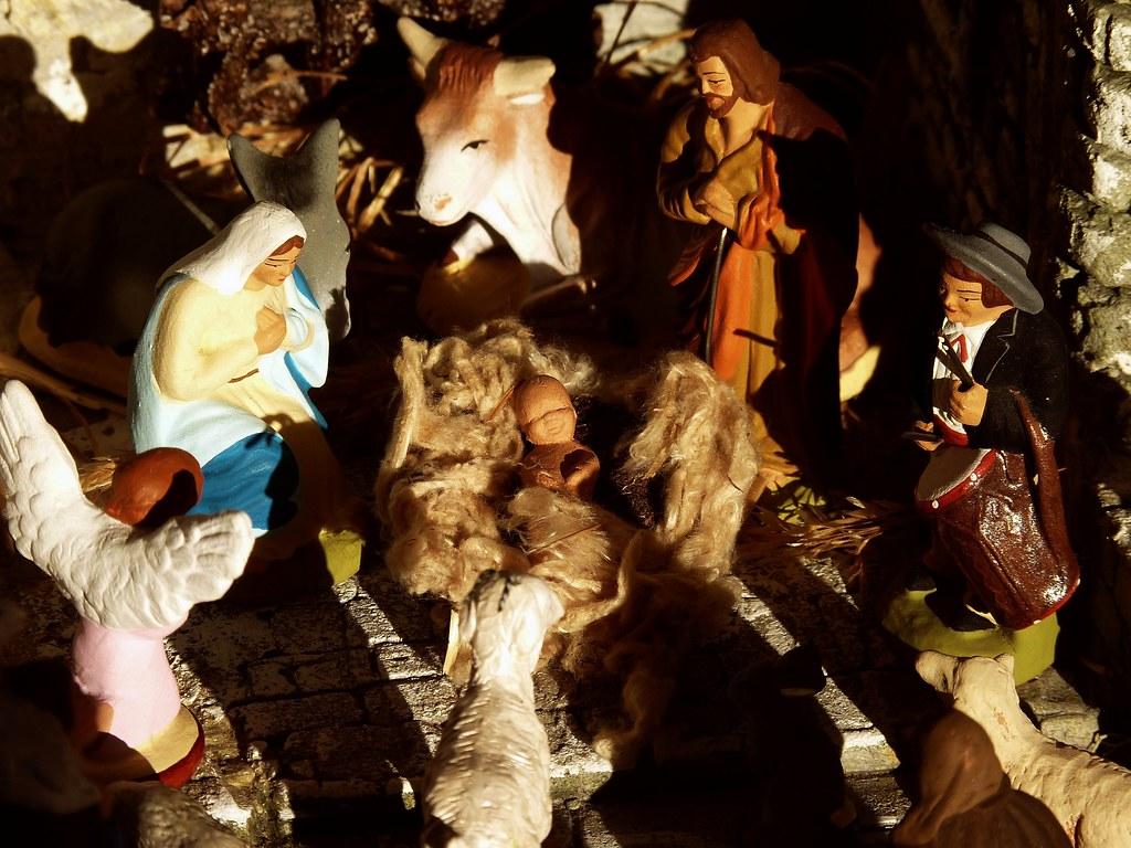 santons : Nativité