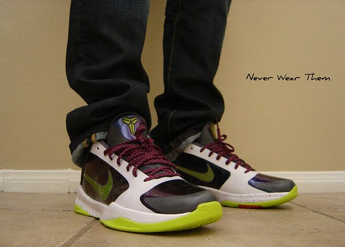 kobe 5 chaos. Nike Zoom Kobe 5 V