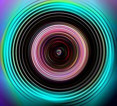 INTO THE LENS (jjambien1) Tags: colors abstractart irfranview intothelens jjambien1 amazingeyecatcher struckbyrainbow circlesincirclesincircles