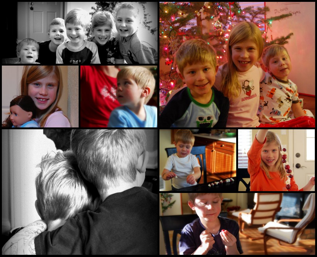 Christmas collage 1