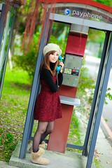 (Funstyle) Tags: portrait woman cute girl beauty model nikon asia taiwan 85mm sigma babe ntu taipei  fx  2009 peopel      2470  mikako  difocus d700