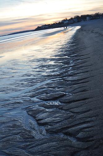 Sunset At Devereux Beach Dec 30, 2009