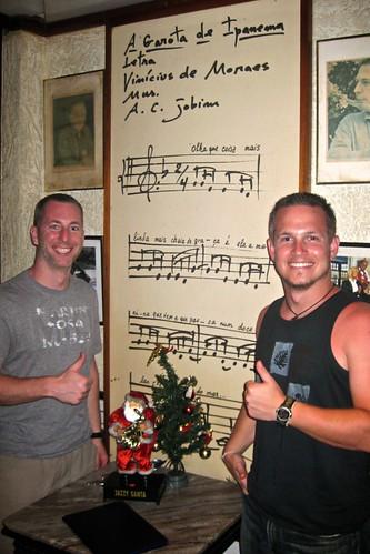 Doug & Me in Garota de Ipanema