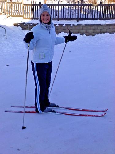 daisy skiing
