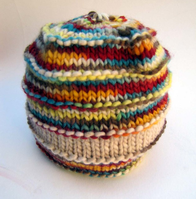 Ravelry Super Natural Stripes Beanie Pattern By Teresa Cole