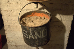bucket of sand (underwhelmer) Tags: house brooklyn bucket sand interior parkslope ephemera limestone
