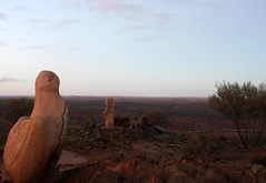 Desert (pominoz) Tags: sculpture art dawn nsw brokenhill sculpturesymposium