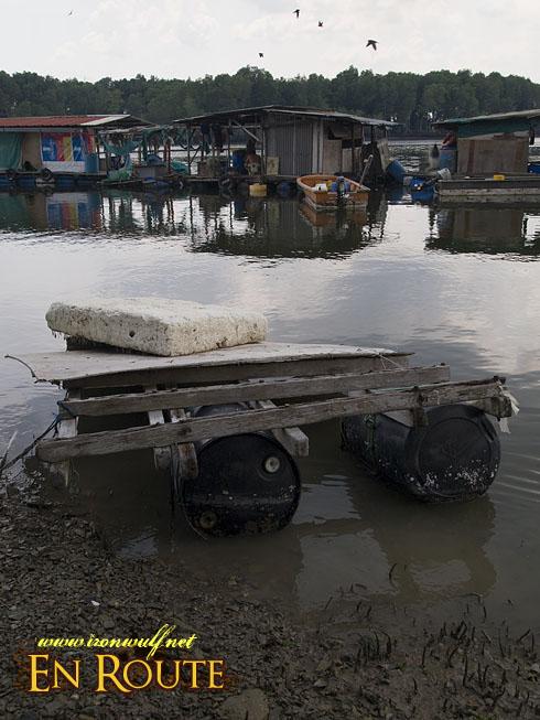 Pulau Ubin Floating Houses