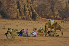 Morning coffe ( ) Tags: morning border jordan southern saudi rum coffe wadi bedouin badawi badaween