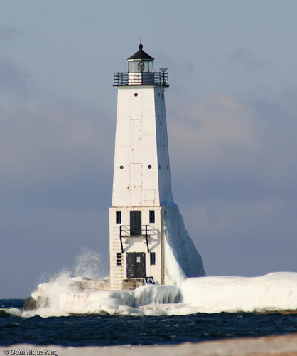 Lake Michigan's Frankfort North Breakwater Lighthouse