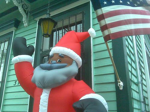 Santa Flag
